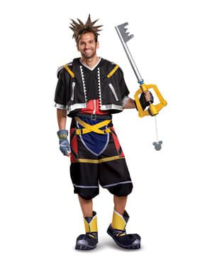 Costume di Kingdom Hearts III Sora Deluxe informale per adolescente