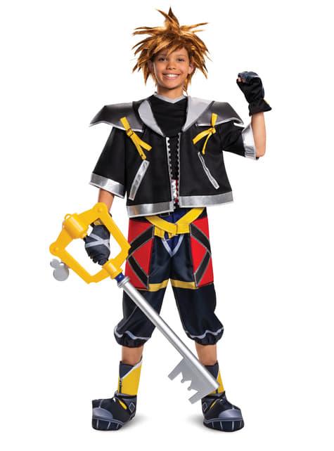 Déguisement Kingdom Hearts III Classic Deluxe Sora pour adolescent