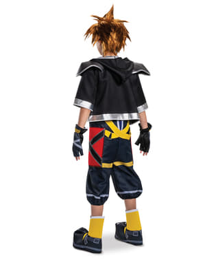 Kingdom Hearts III Sora Klassisk Deluxe Kostyme til Tenåringer