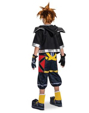 Maskeraddräkt Kingdom Hearts III Classic Deluxe Sora för ungdom