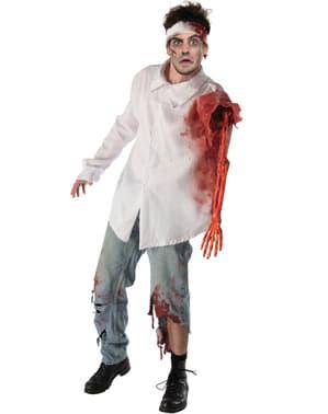 Disfraz de ataque zombie para hombre