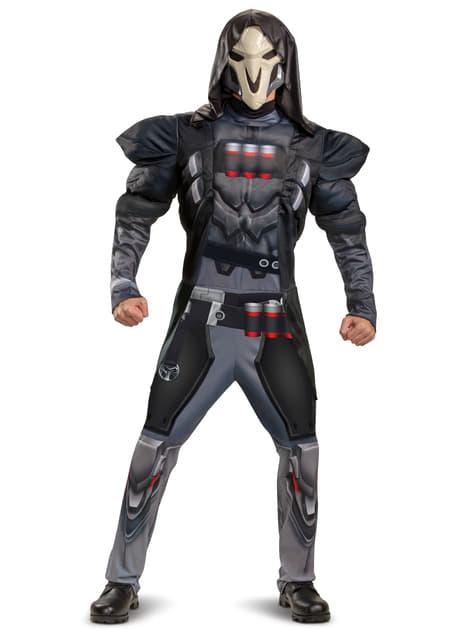 Disfraz de Overwatch Reaper para hombre