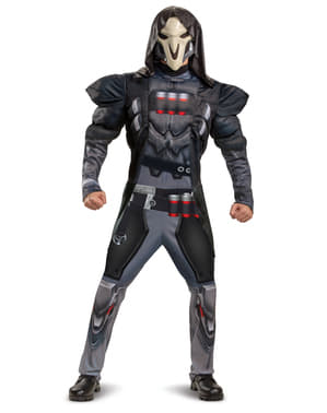Kostum Reaper Overwatch untuk pria