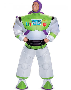 Buzz Lightyear Inflatable Costume for Men - Toy Story 4