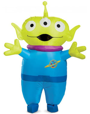 Toy Story 4 Alien Kostüm zum Aufblasen für Herren