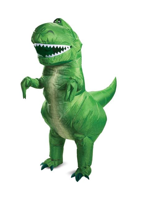 Opblaasbaar Rex kostuum - Toy Story 4
