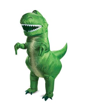 Oppblåsbart Rex kostyme - Toy Story 4