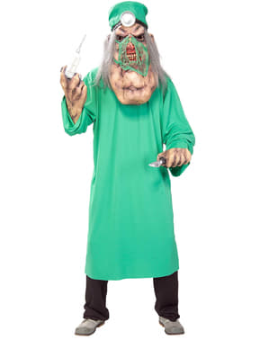 Disfraz de Mega Doctor Demente para hombre