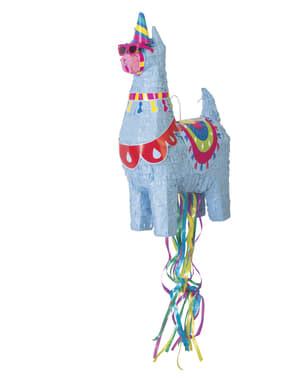 Piñata 3D modrá lama