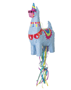 Синій Llama 3D Piñata