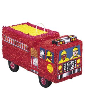 Truk Pemadam Kebakaran 3D Piñata