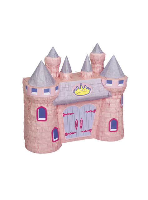 Piñata de castillo de princesa 3D