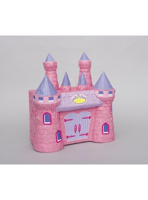 Piñata de castillo de princesa 3D - para tus fiestas