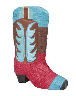 Far West Cowboy Boot 3D Piñata