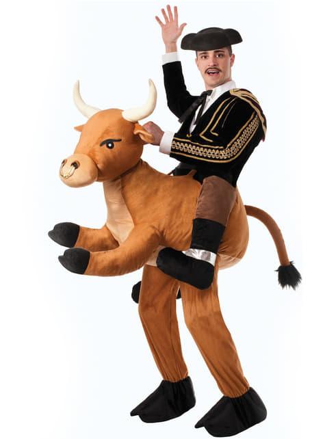 Disfraz de toreando al toro bravo