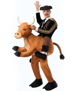 Kostým jezdec na rozzuřeném býku