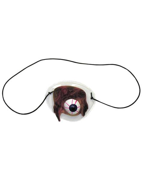 Parche de globo ocular deforme