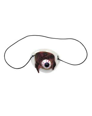 Ooglapje met misvormde oogbal