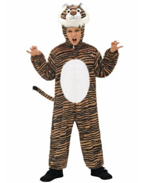 Kids Stuffed Tiger Costume