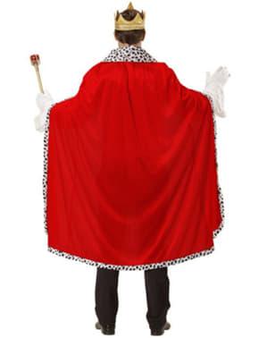 Kráľovský plášť a koruna pre muža