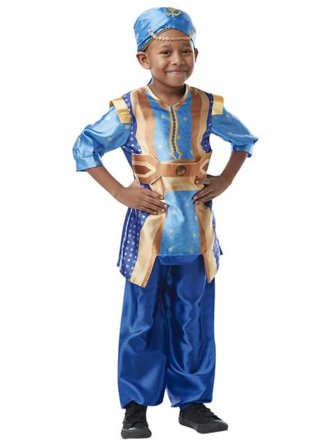 Disfraz de Genio de la lámpara para niño - Aladdín