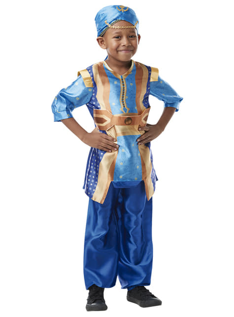 Geest uit de fles kostuum voor kinderen - Aladdin