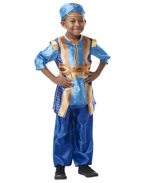 Klasický kostým džin v lahvi pro děti - Aladdin