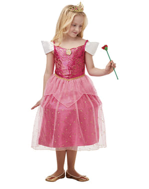 "Луксозен детски костюм на Аврора– ""Спящата красавица"""