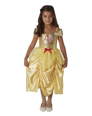 Belle kostume til piger - Skønheden og udyret