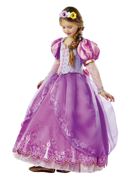 Déguisement Raiponce Édition limitée fille - Disney
