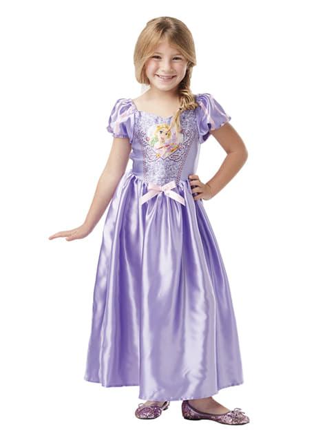 Fato de Rapunzel para menina - Disney