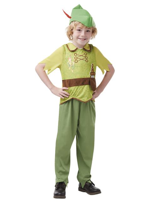 Maskeraddräkt Peter Pan barn - Disney