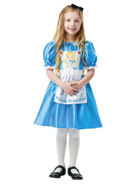Alenka v říši divů kostým pro dívky - Disney