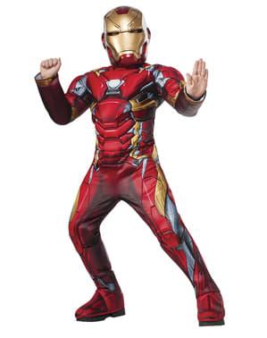 Costum Iron Man deluxe pentru băiat - The Avengers