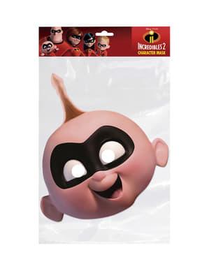 Masque en carton de Jack Jack garçon - Los Increíbles