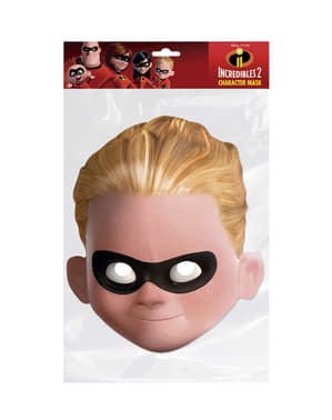 Masque en carton de Dash garçon - Los Increíbles
