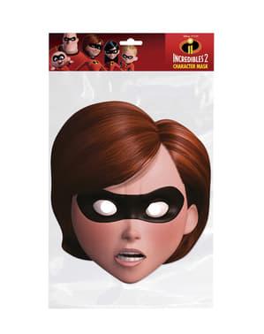 Masque en carton de Elastigirl femme - Los Increíbles