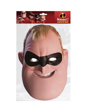 Masque en carton de Mr Increible homme - Los Increíbles