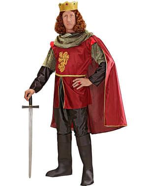 Fato de cavaleiro real para homem