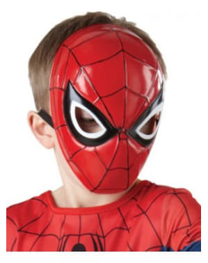 Ultimate Spiderman maske til Gutter