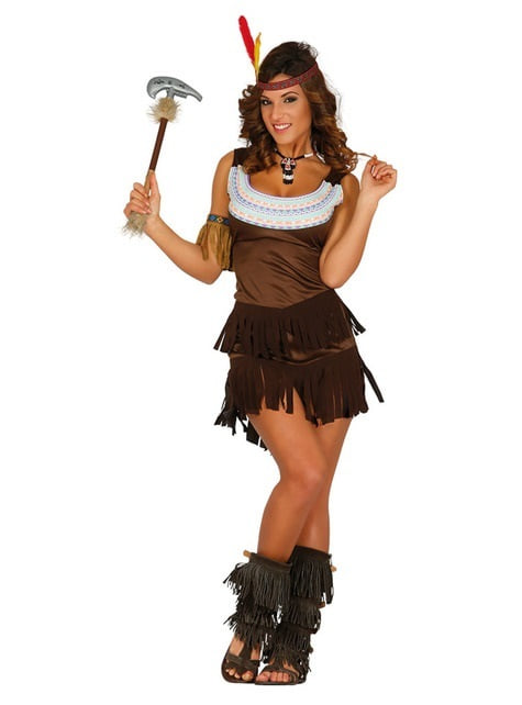 Apache Indian costume for women