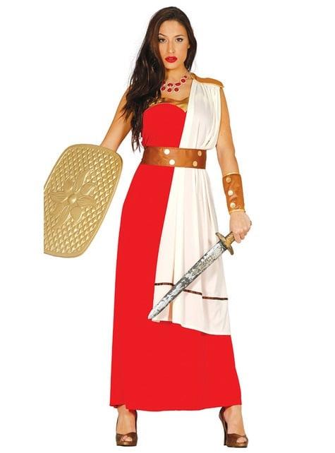 Disfraz de guerrera espartana para mujer