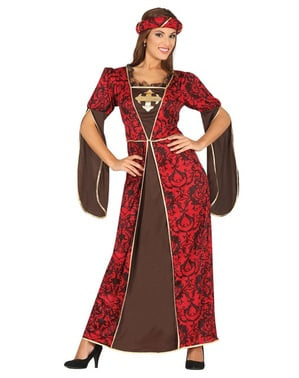 Flirty courtesan costume for women