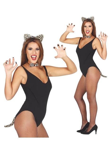 Set de leopardo golosa para mujer - original