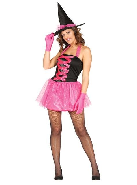 Disfraz de bruja sugerente para mujer