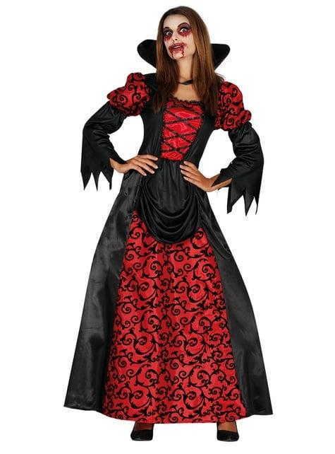 Fato de vampiresa infernal para mulher