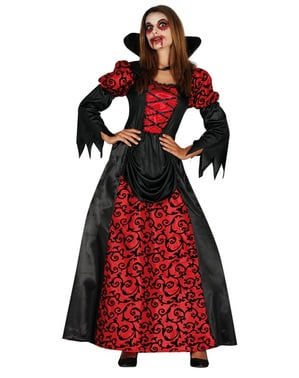 Infernalsk vampyrinne kostyme for dame