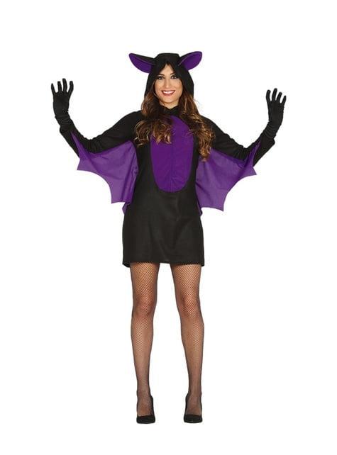 Lazy bat costume for women
