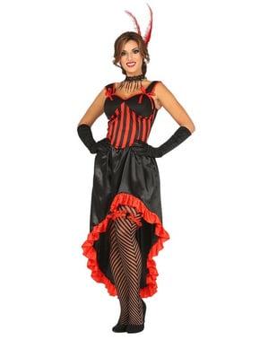 Costume da ballerina can can per donna