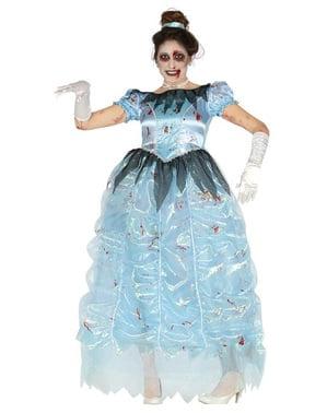 Ζωντανή κοστούμι πριγκίπισσας ζόμπι για γυναίκες